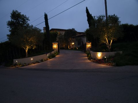 Outdoor Lighting Agoura Fixtures